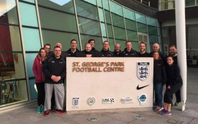 St Georges Park inspiresport team pic