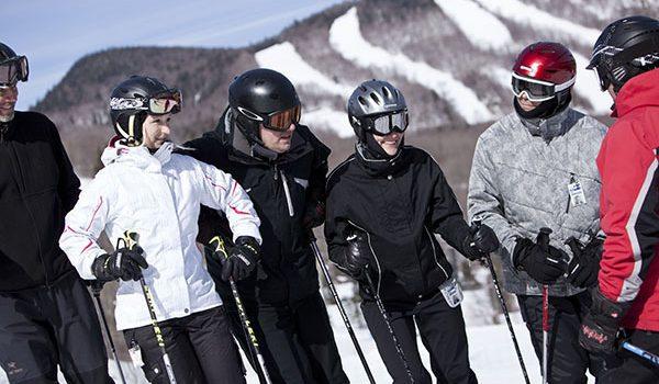 Mont St Anne School Ski Trips with inspireski