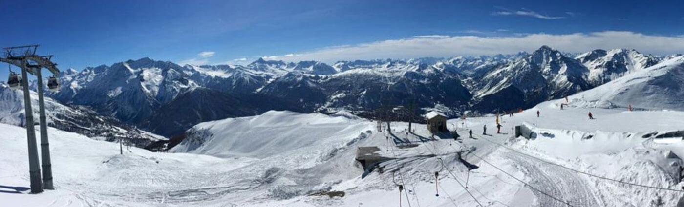 Sestriere School Ski Trips with inspireski