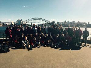 Austalia Tour Burnham-grammar