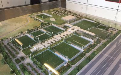 Real Madrid CF Facilities Ariel View