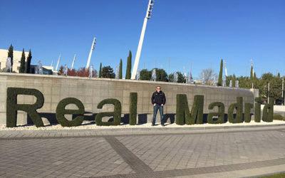 Real Madrid CF Entrance
