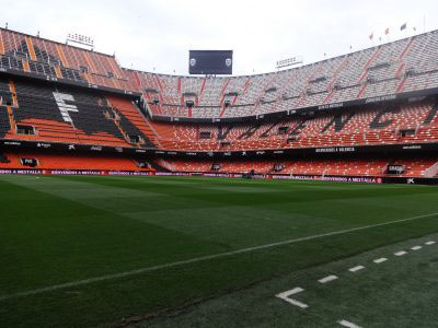Mestalla Stadium home of Valencia CF