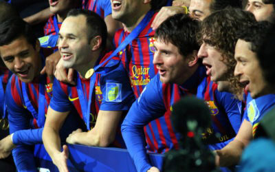 FC Barcelona Team Victory