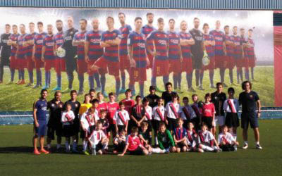 FC Barcelona School Group Picture
