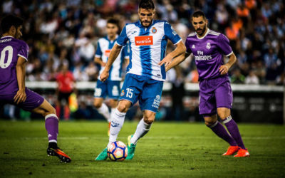 RCD Espanyol Player in Action