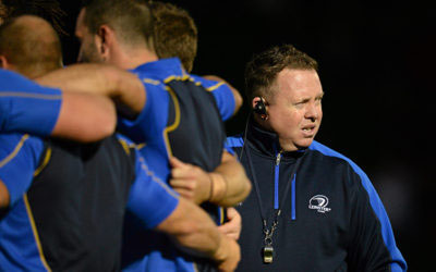 20 September 2013; Leinster head coach Matt O'Connor. Celtic League 2013/14, Round 3, Glasgow Warriors v Leinster. Scotstoun Stadium, Glasgow, Scotland. Picture credit: Stephen McCarthy / SPORTSFILE
