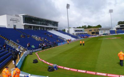 SWALEC Stadium, home of Glamorgan Cricket Club
