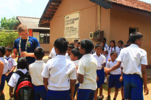 tour of local schools in sri lanka