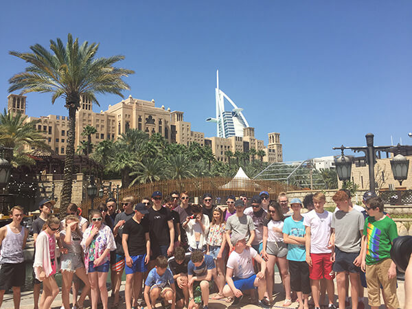 Sports Tours to Dubai