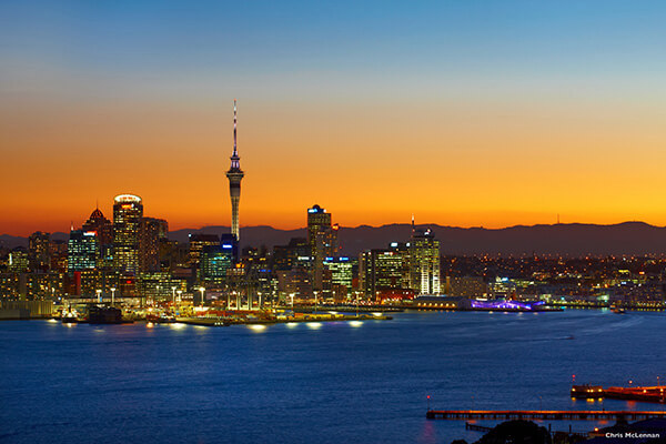 Tours to New Zealand