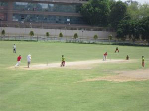 Cricket match in Australia