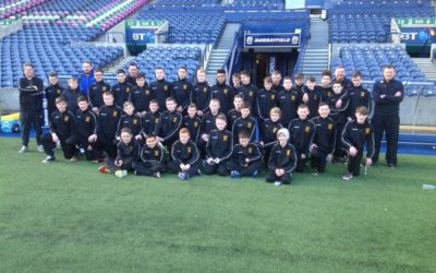 Edinburgh Rugby Tour with inspiresport