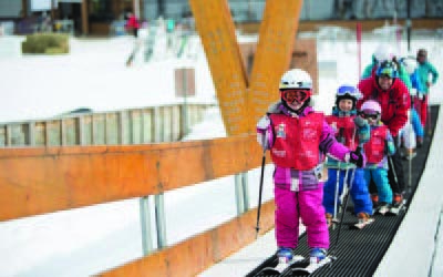 Mont St Anne School Ski Trips with inspireski