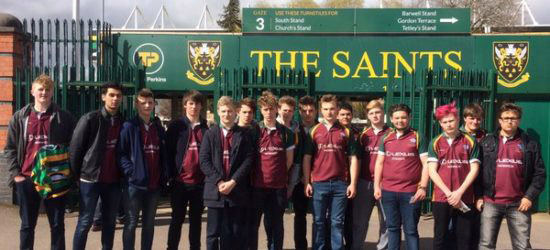 Northampton Saints Rugby Tour with inspiresport