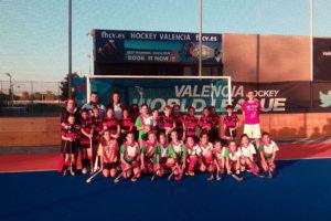 Team Lineup at Valencia Hockey