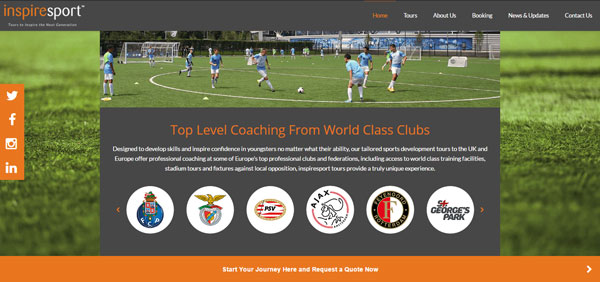 Top level coaching with top class clubs