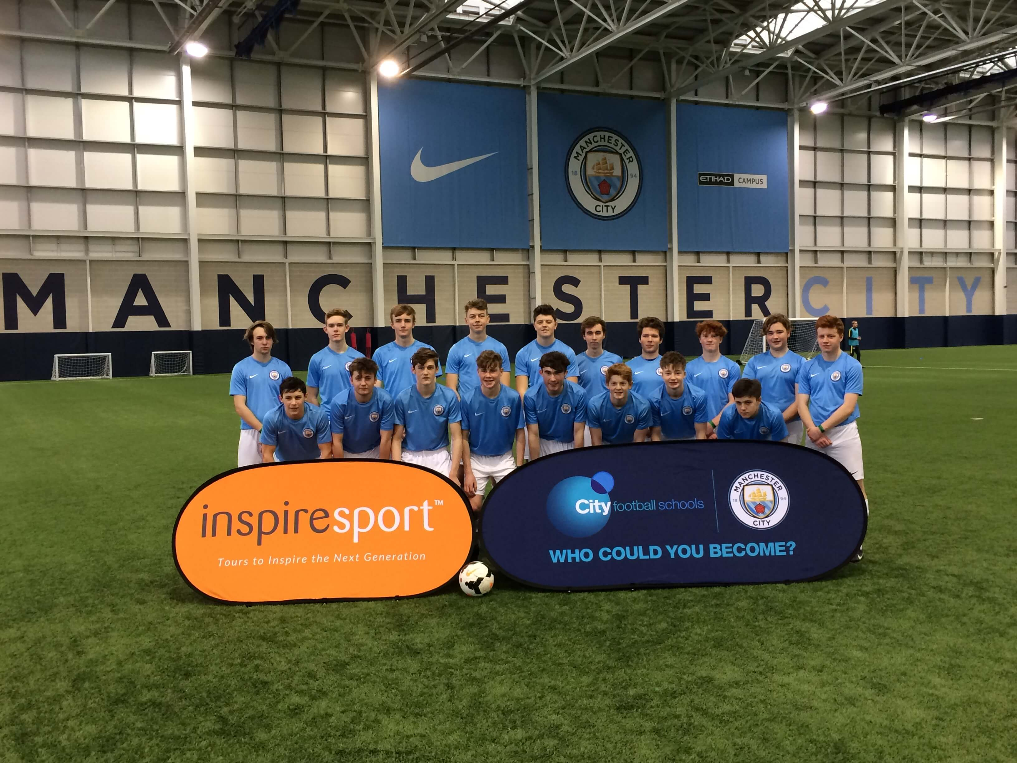 Man City inspiresport tour