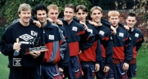Eric Harrison and the Class of 92