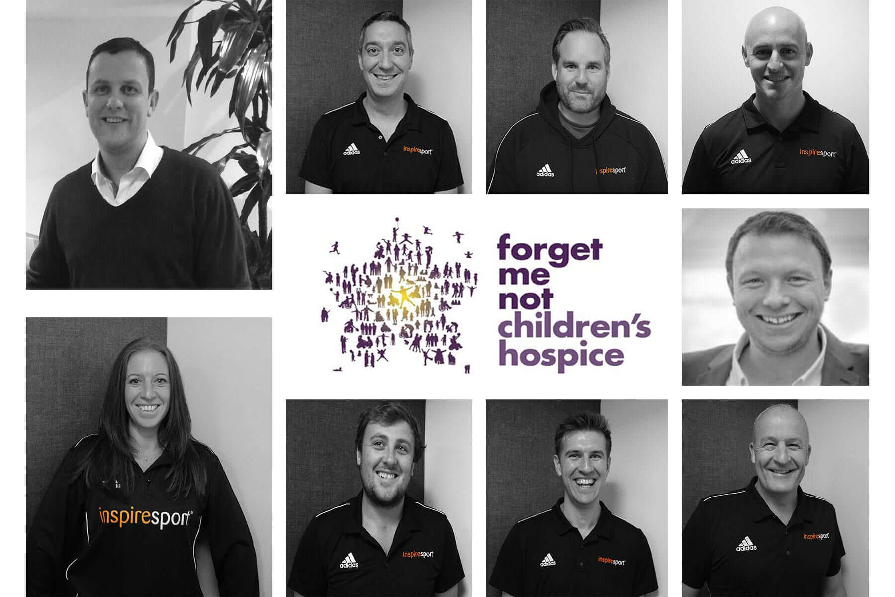 inspiresport charity team