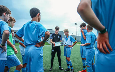 City Football Schools Tactical Huddle