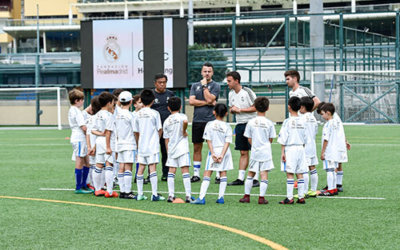 Real Madrid Foundation Training